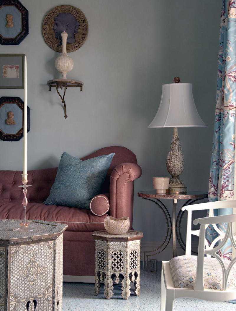 Восточный стиль в интерьере с мебелью