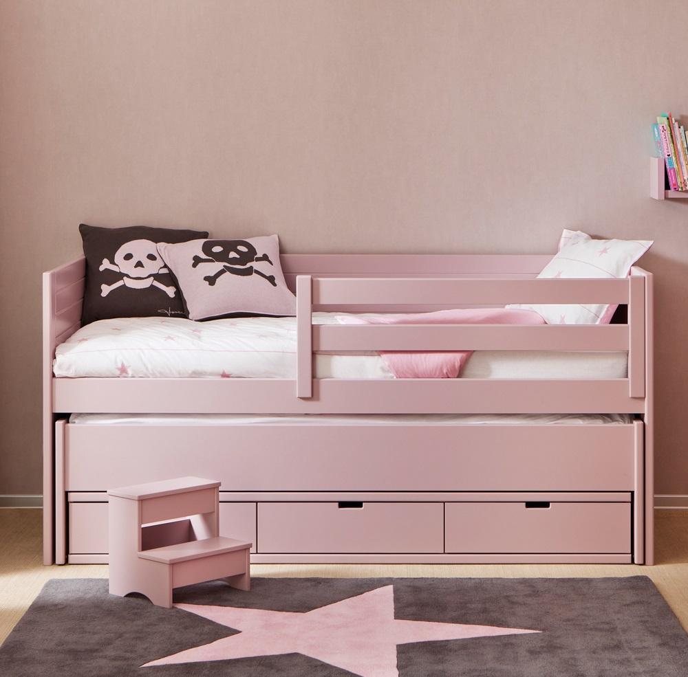 Выдвижная кровать для девочки
