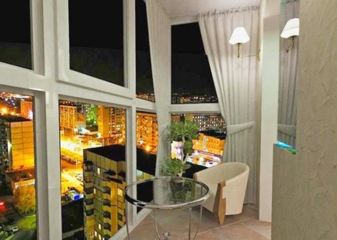 Декор балкона