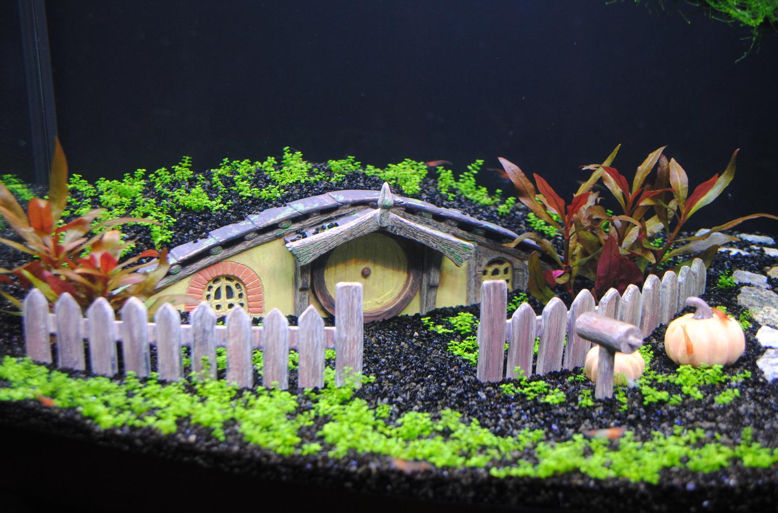 Сказочный декор аквариума