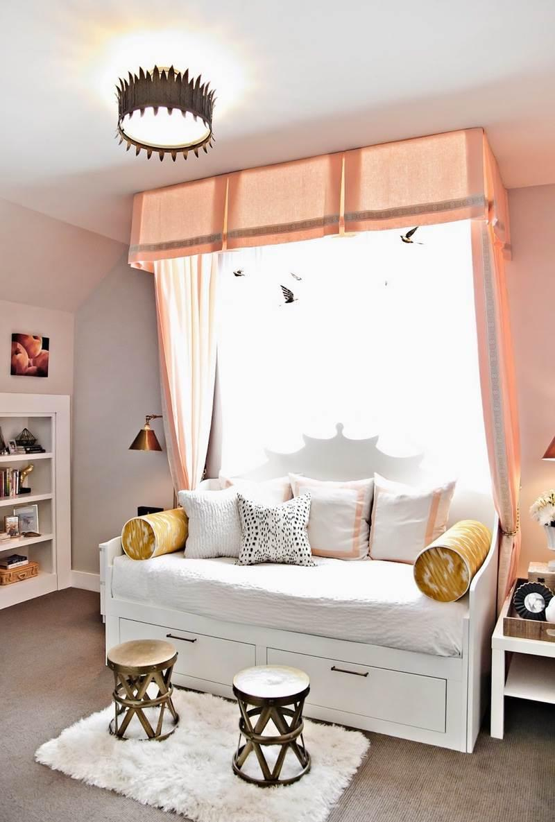 Дизайн комнаты для подростка с балдахином
