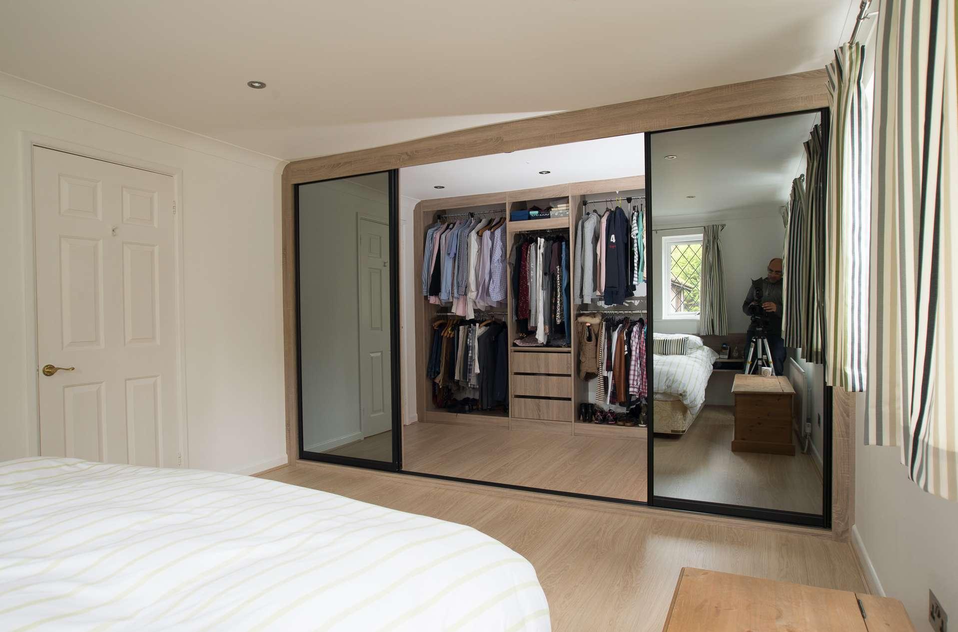 Встроенная гардеробная