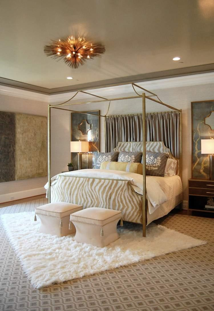 Балдахин над кроватью модерн
