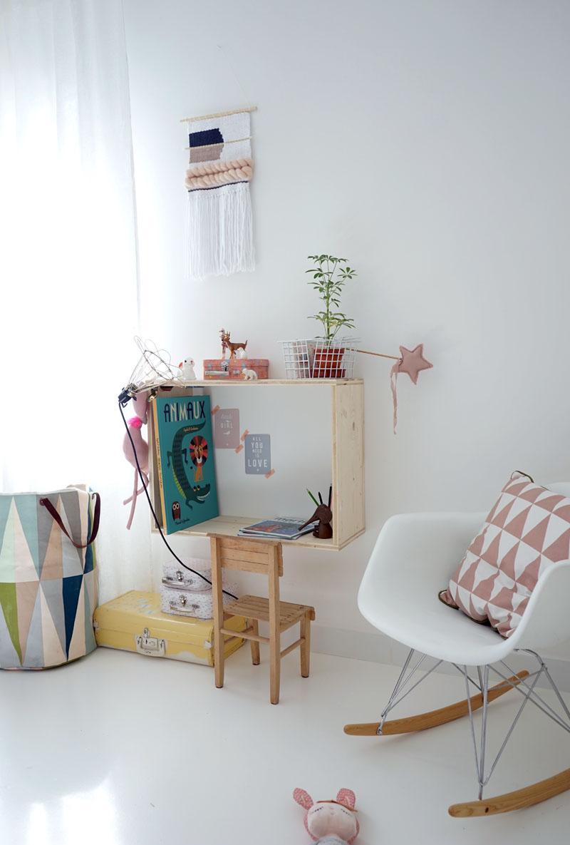 Эконом дизайн детской комнаты в стиле модерн