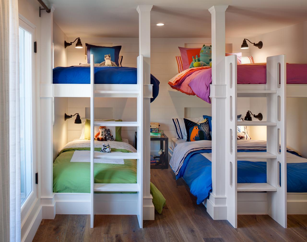 Детская комната в хрущевке для троих