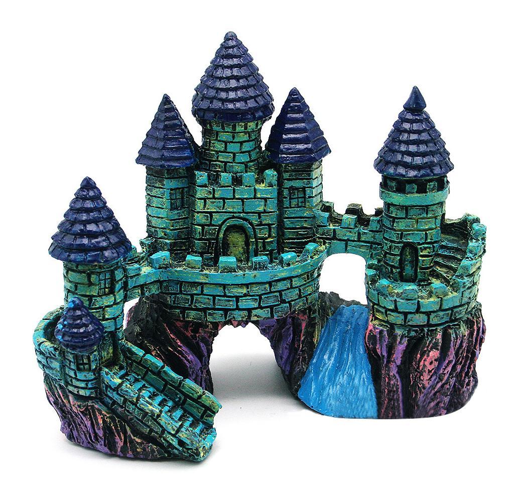 Декор для аквариума замок