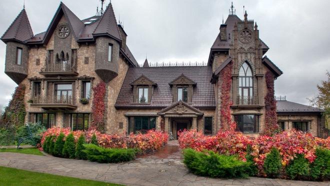 Вертикальная композиция готической архитектуры