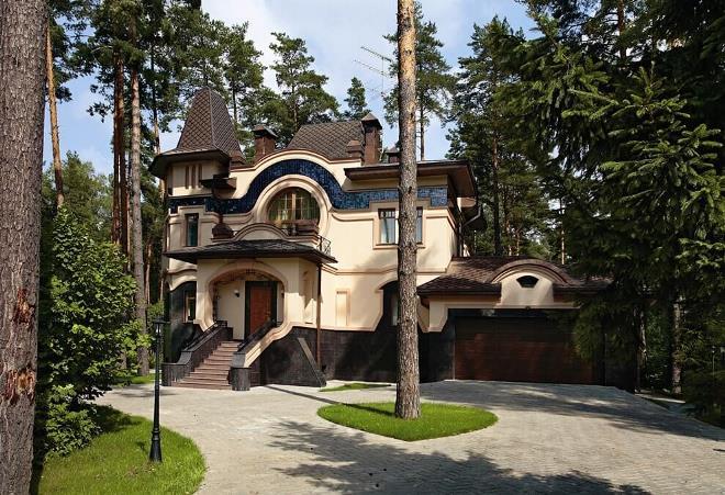 Модерн в европейской архитектуре