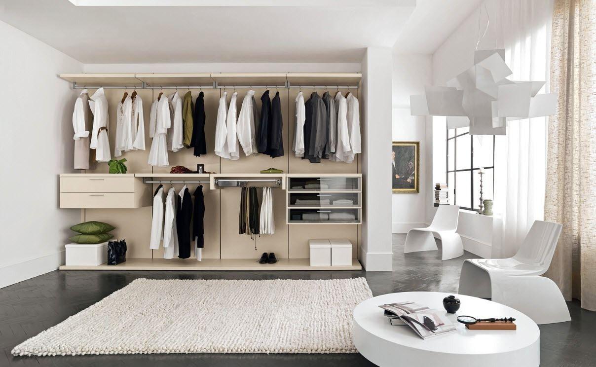 Модульная гардеробная Пакс