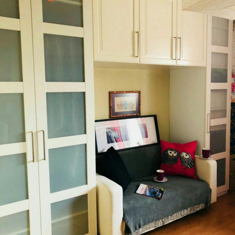 Спальня и шкаф Пакс из Икеи