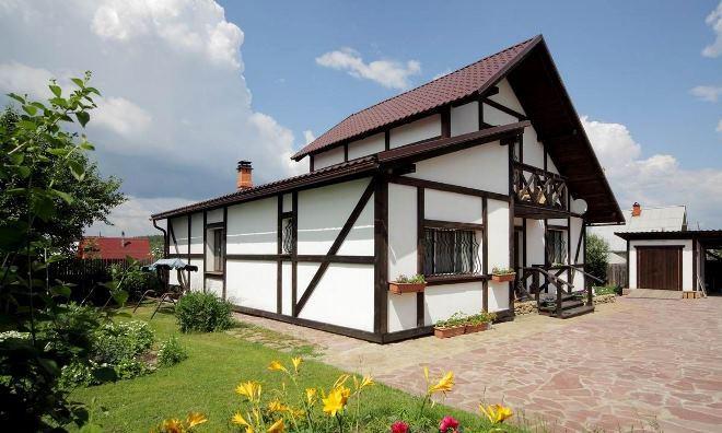 Скандинавская архитектура частного строительства