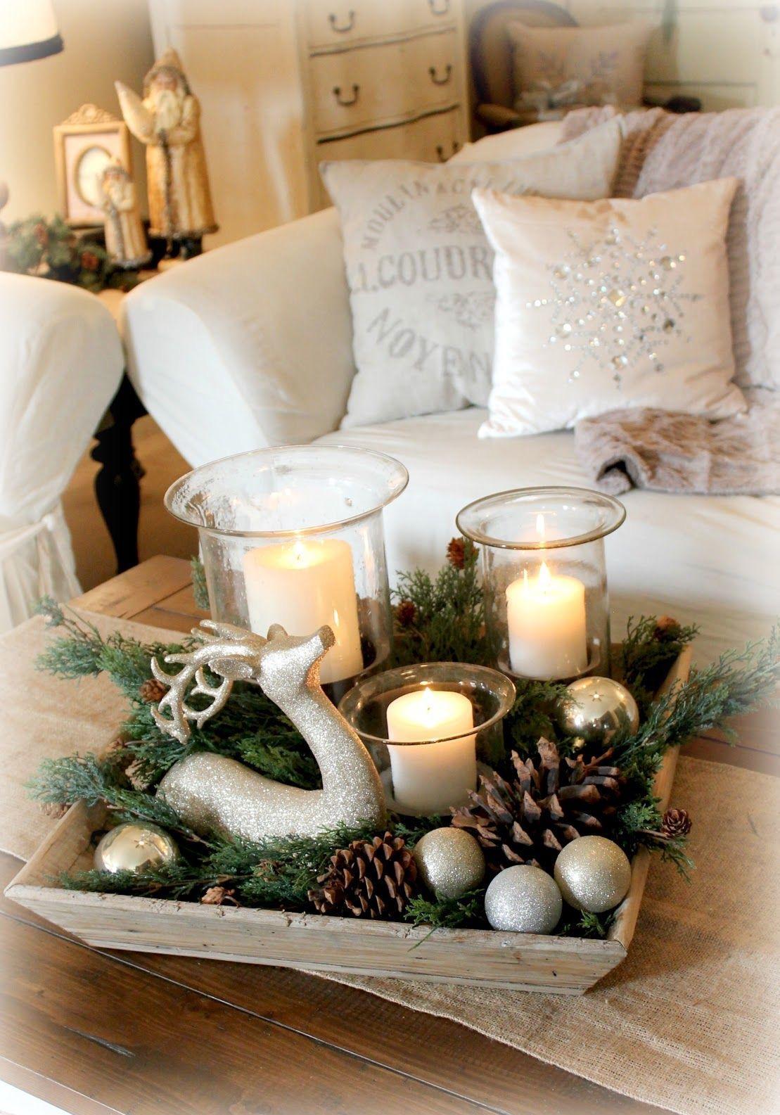 Украшение квартиры свечами на новый год