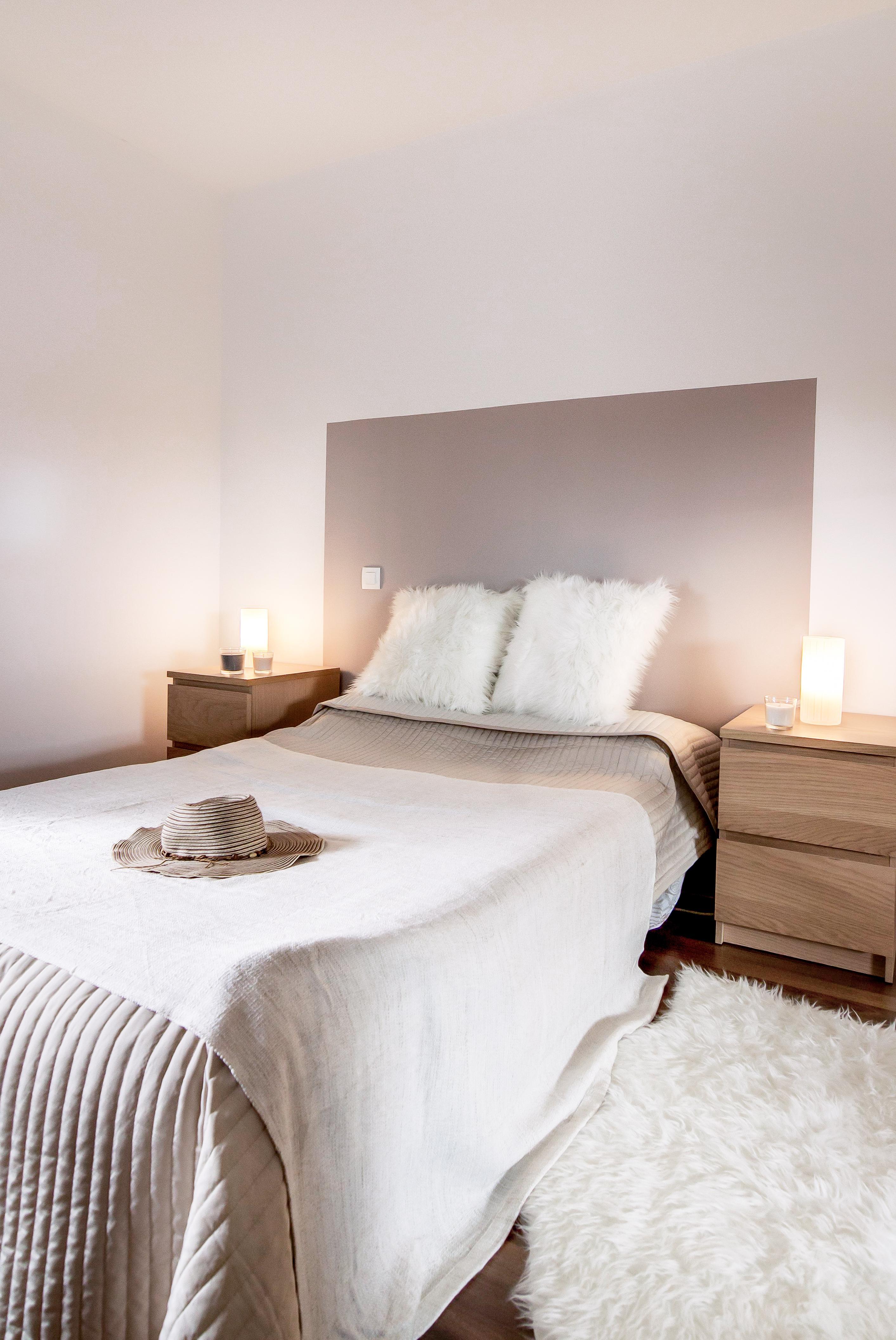 Дизайн спальни 18 кв м минимализм