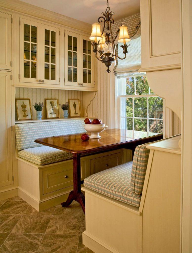 уютная кухня с диванчиком фото доверено главную