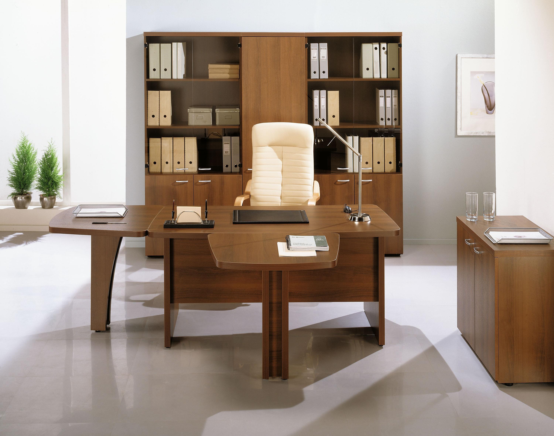 Мебель из ореха для кабинета