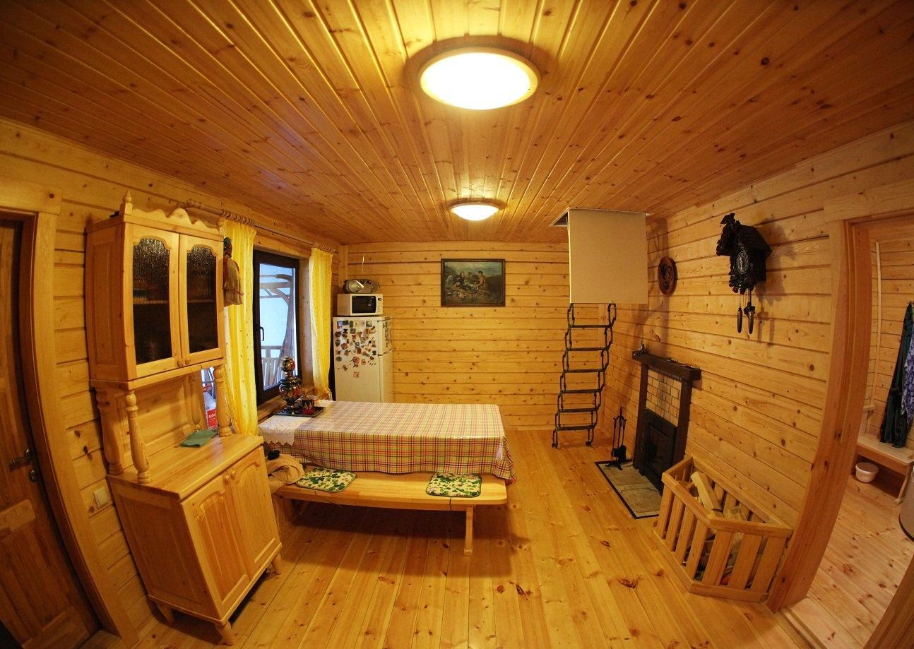 Мебель в комнате отдыха бани