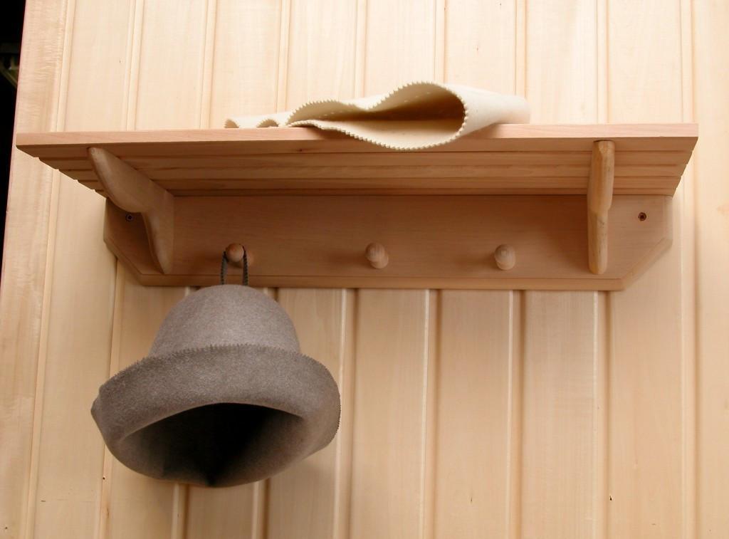 Вешалка для бани