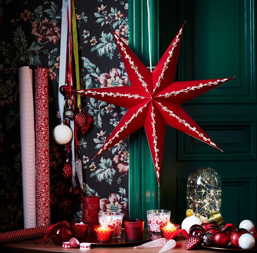 Украшение однокомнатной квартиры к рождеству