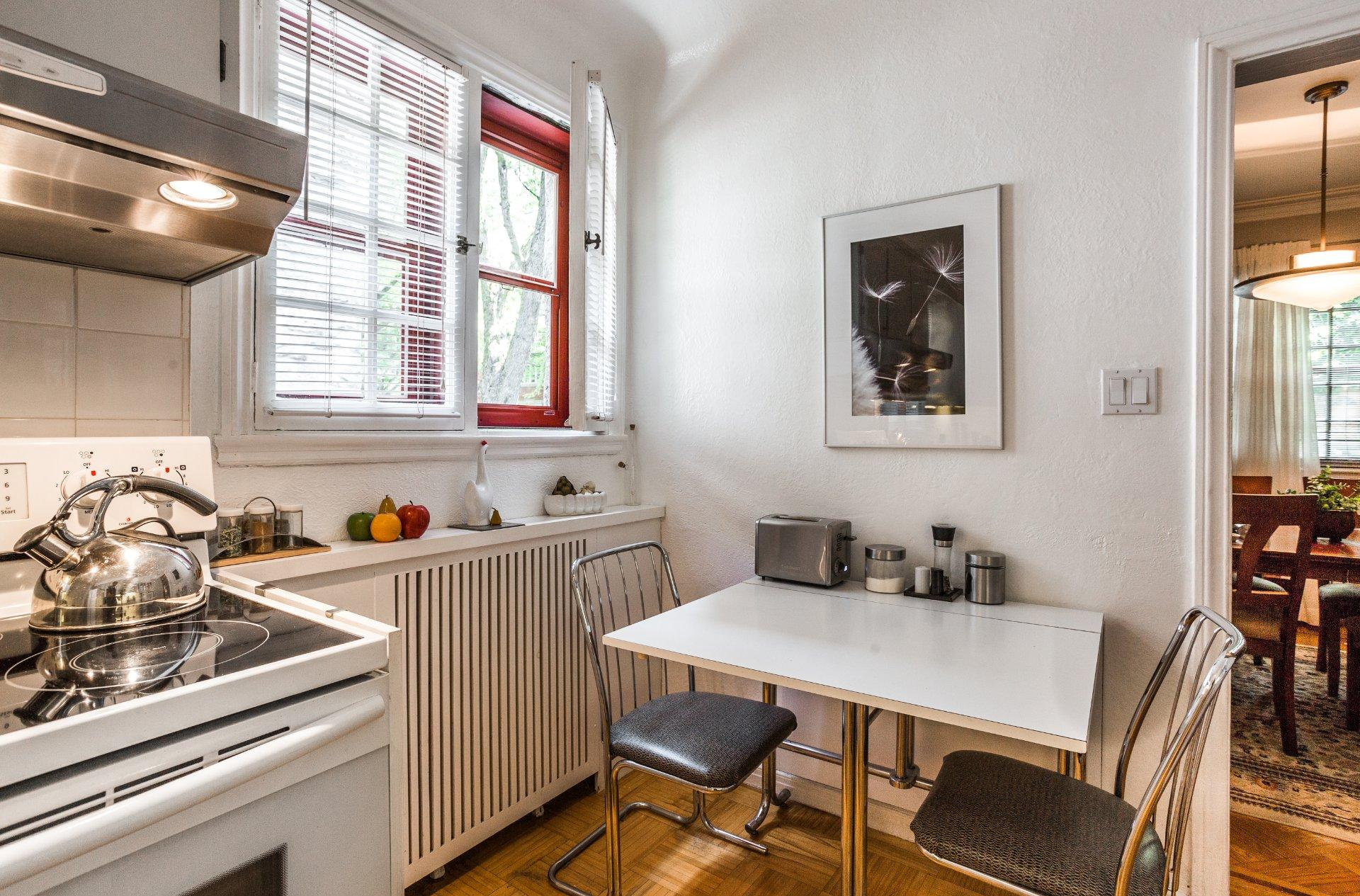 Зонирование гостиной и небольшой кухни