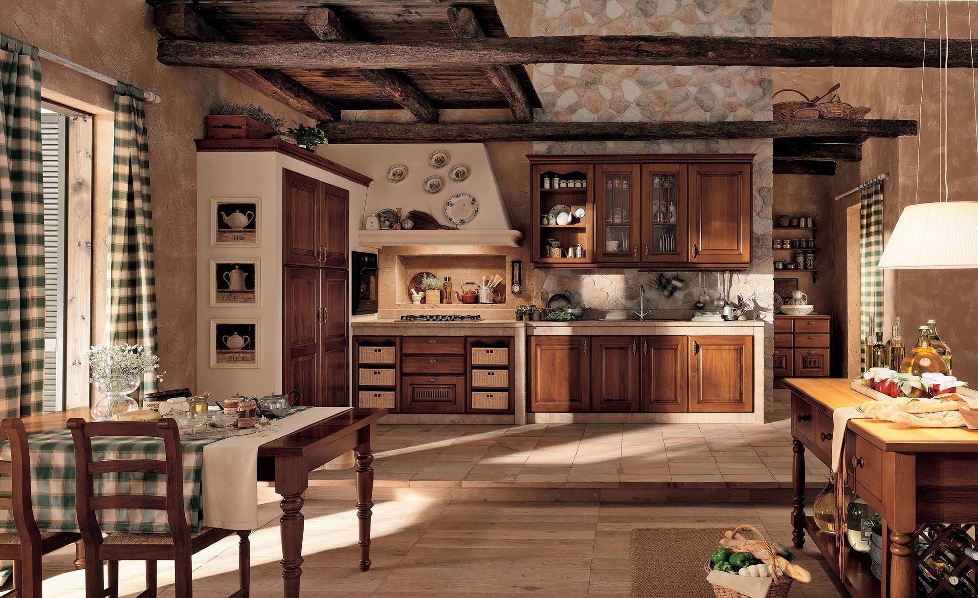 Красивые коричневые обои в доме