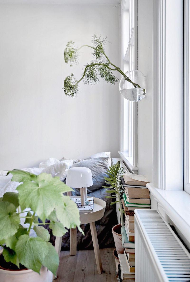 Обстановка однокомнатной квартиры в стиле эко