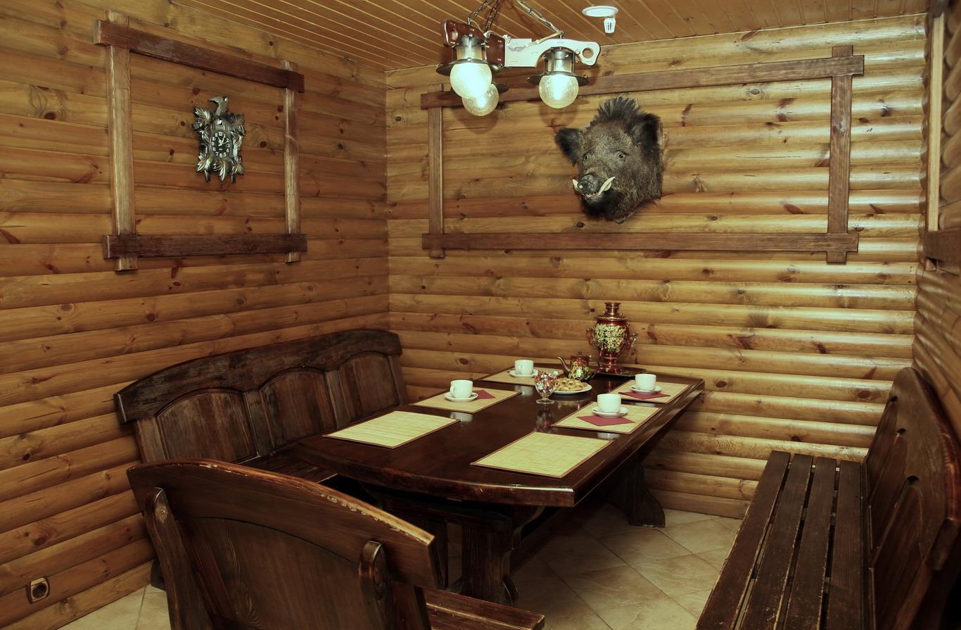 Мебель из дуба для бани