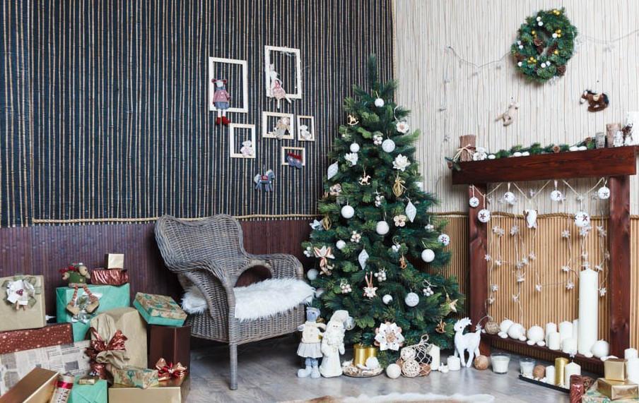 Новогодний декор квартиры