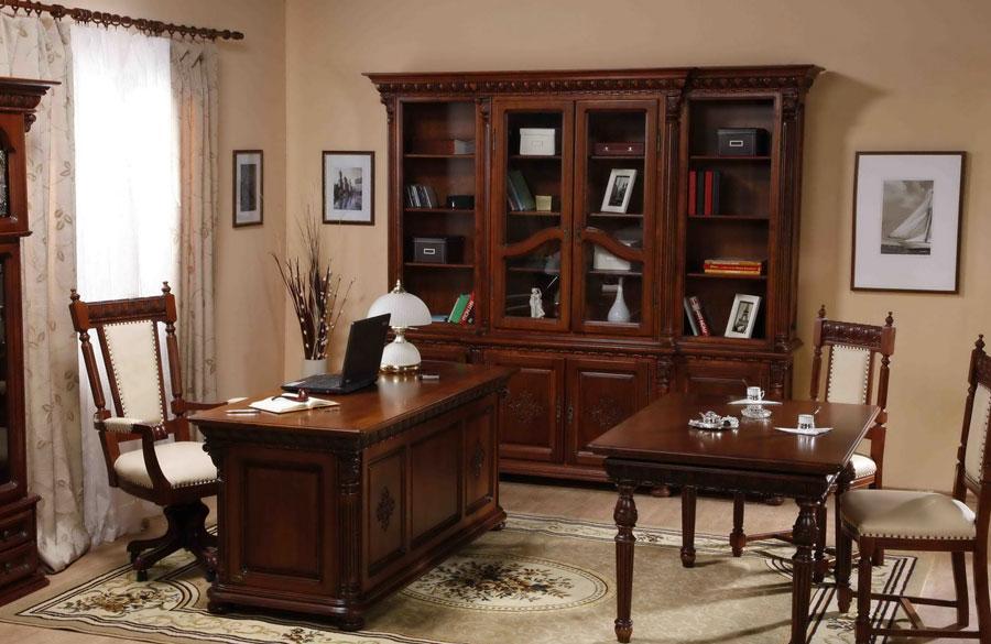 Резная мебель для кабинета