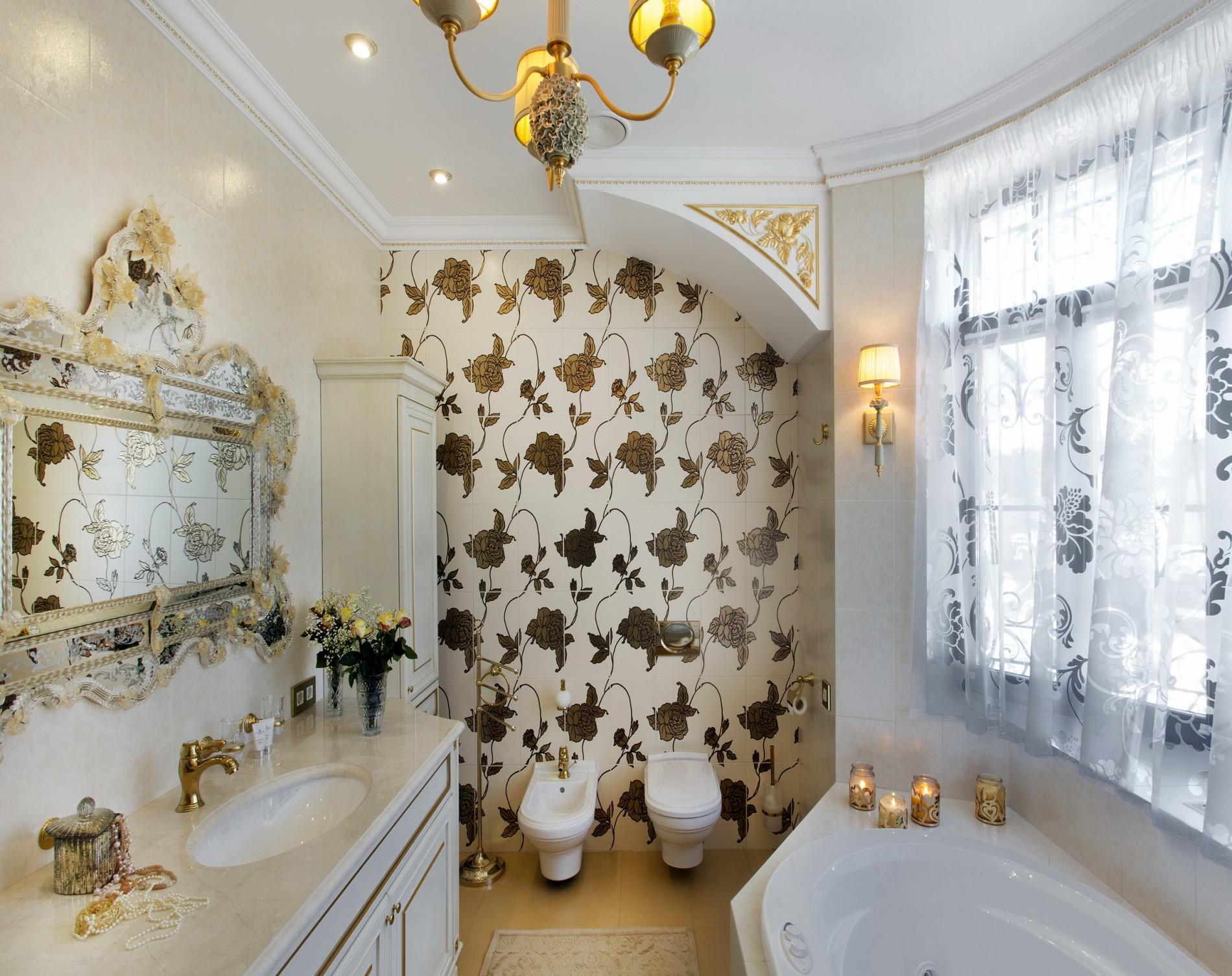 Классическая ванная в доме