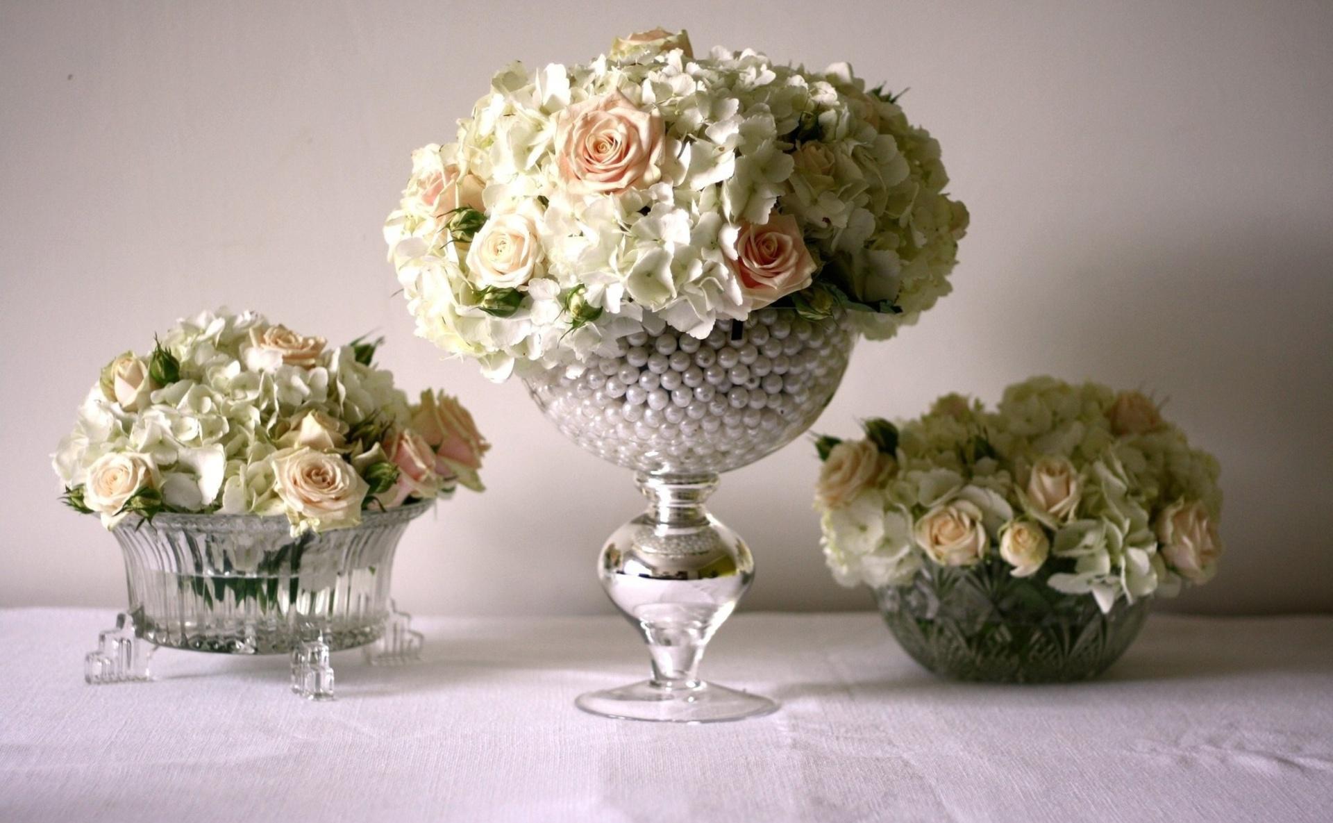 Искусственные розы в интерьере