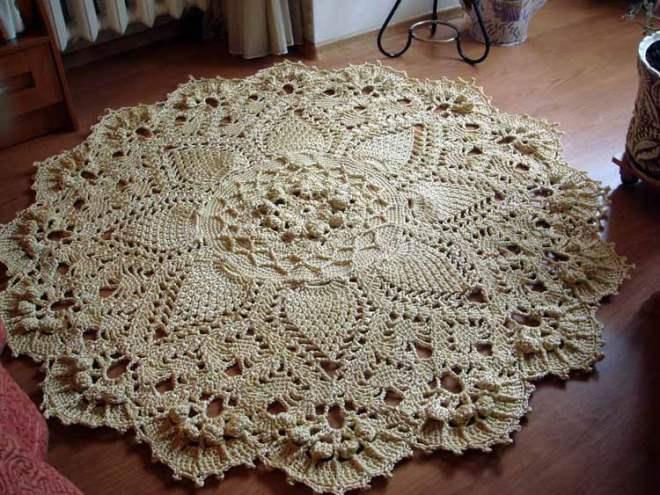 Ажурный коврик