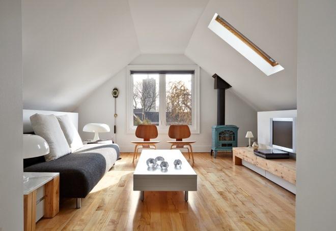 Дизайн и обшивка мансардного пространства