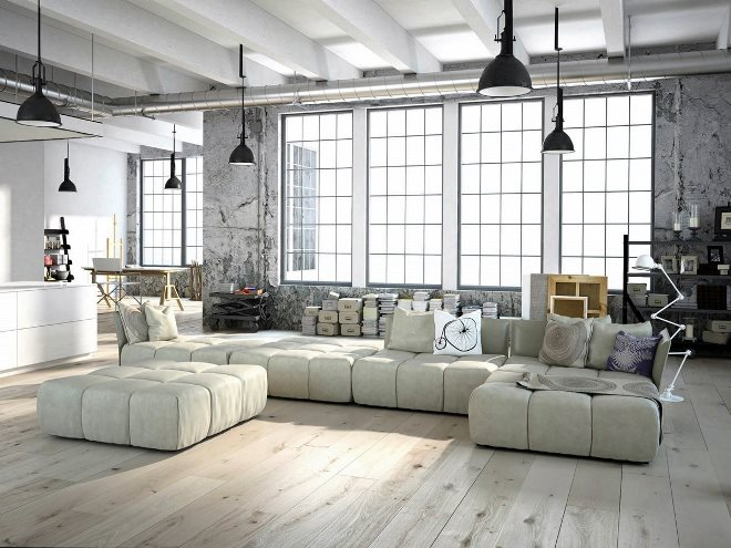 Дизайн мебели в стиле лофт