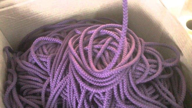 Как выбрать шнур для вязания ковра