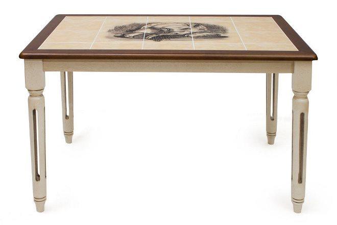 Керамическая плитка для стола