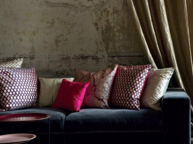 Коричневый декор и текстиль