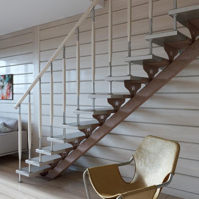 лестницы на металлическом каркасе фото только