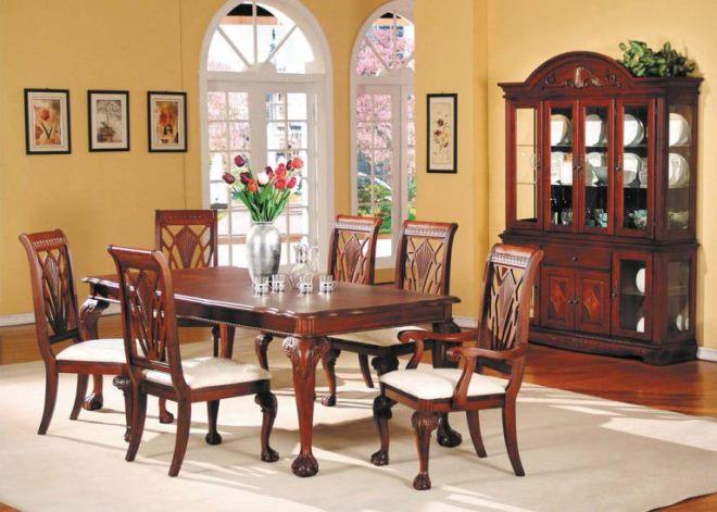 Мебель из вишни в квартире