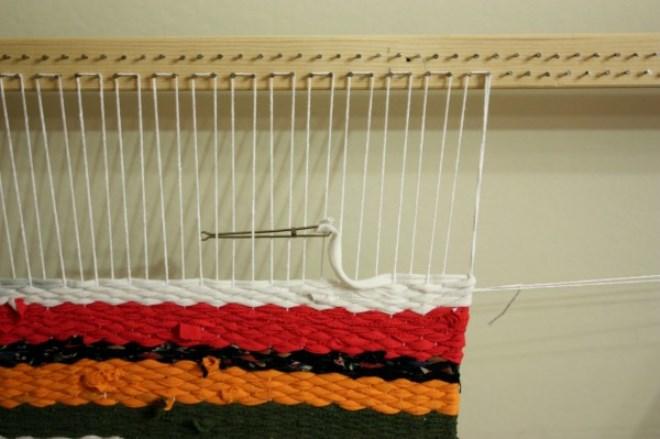 Вязание на рамке