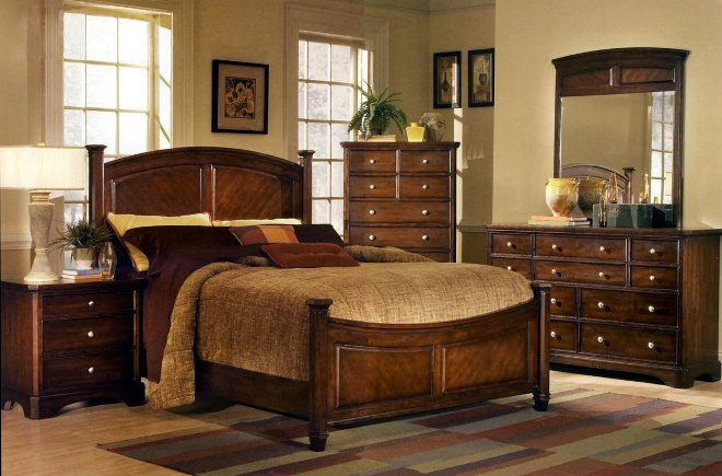 Популярные оттенки мебели цвета вишни