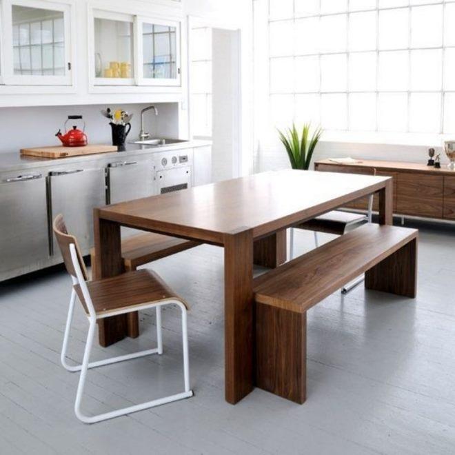 Прямоугольная форма стола