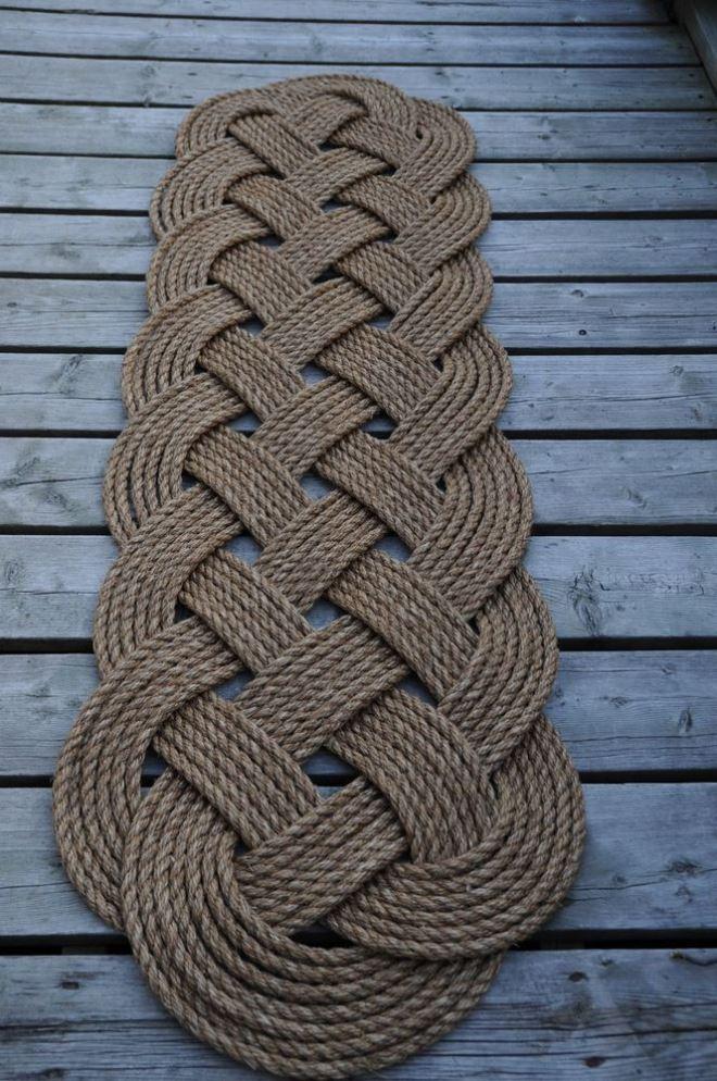 Технологии плетения ковра