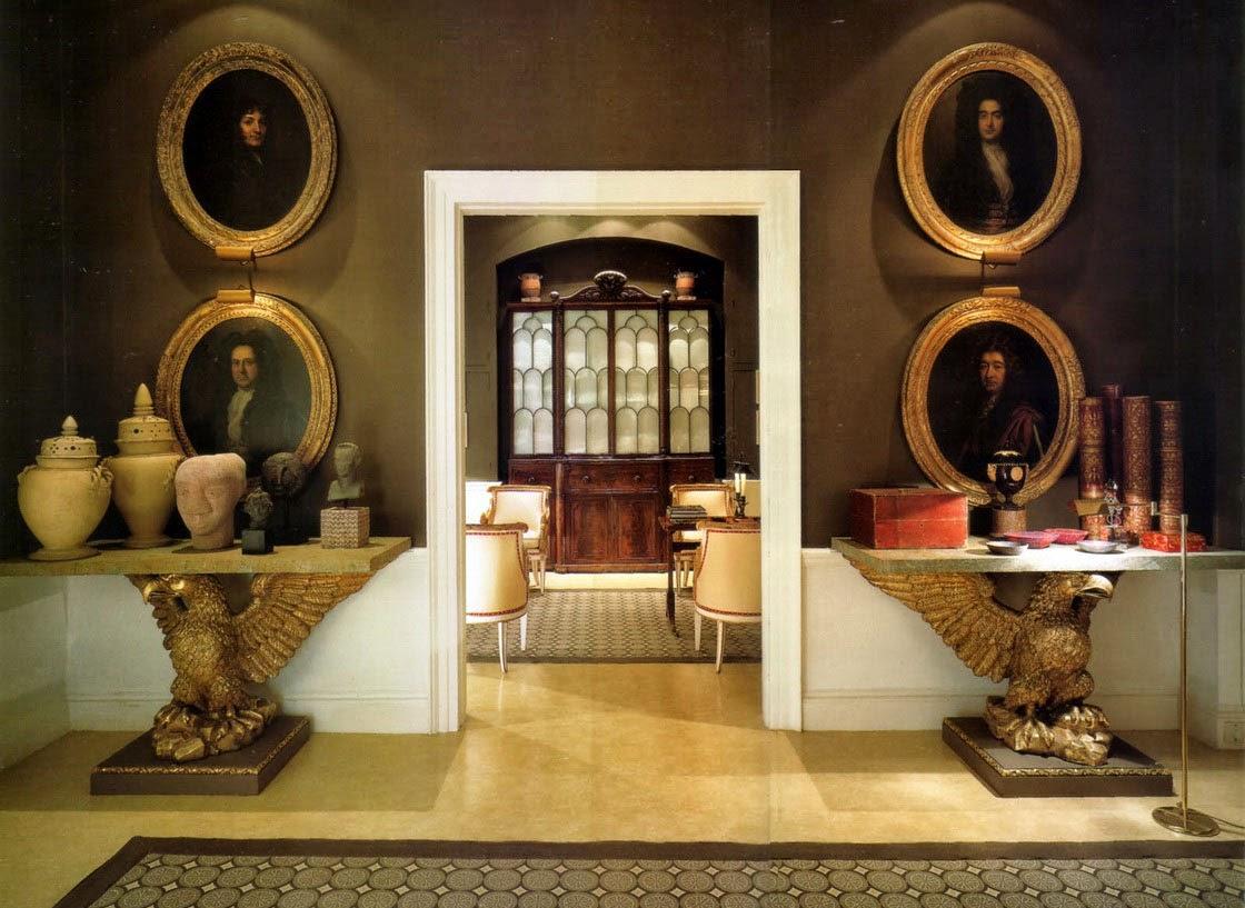 Итальянский декор в коридоре