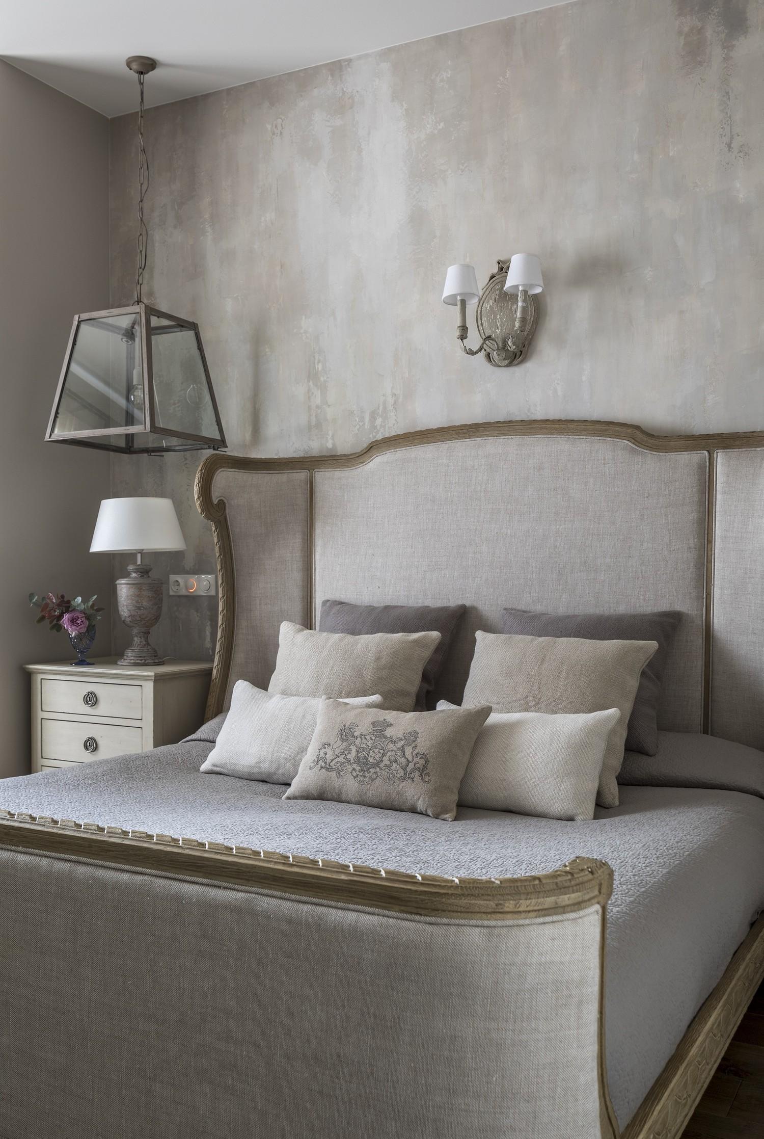 Дизайн спальни 18 кв м в стиле шебби шик