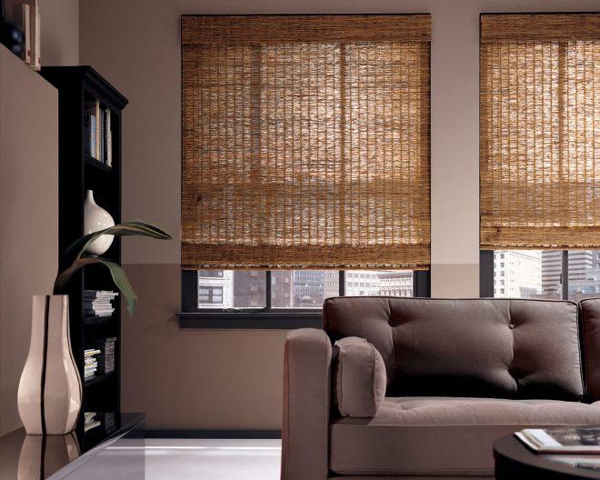 Бамбуковые шторы – природная гармония