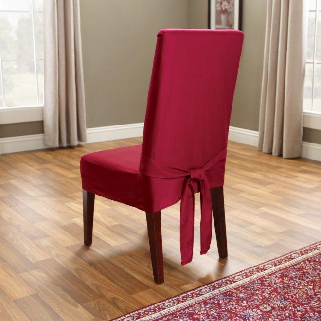 Стиль интерьера, где уместны чехлы на стулья