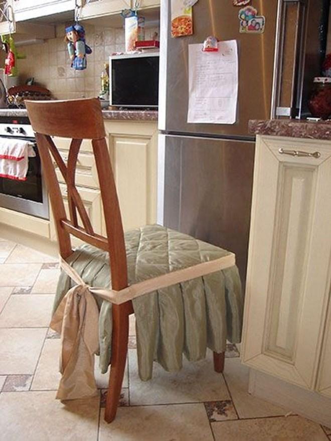 Как сшить чехлы на стулья своими руками