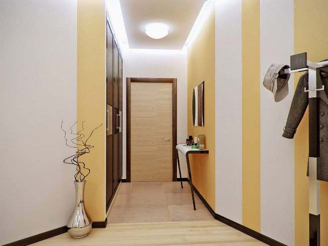 Чем отделать стены в коридоре