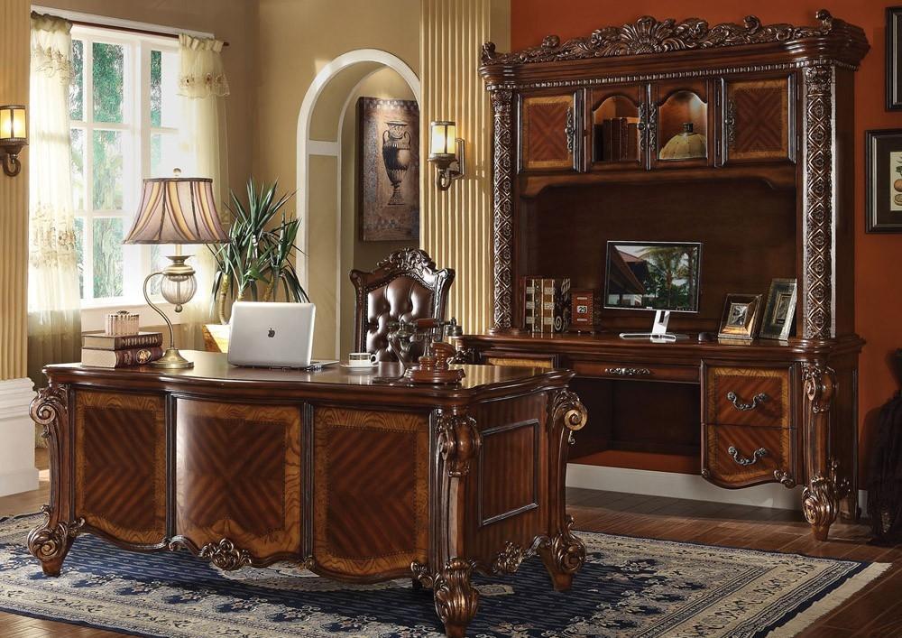 Дизайн интерьера кабинета руководителя в стиле барокко