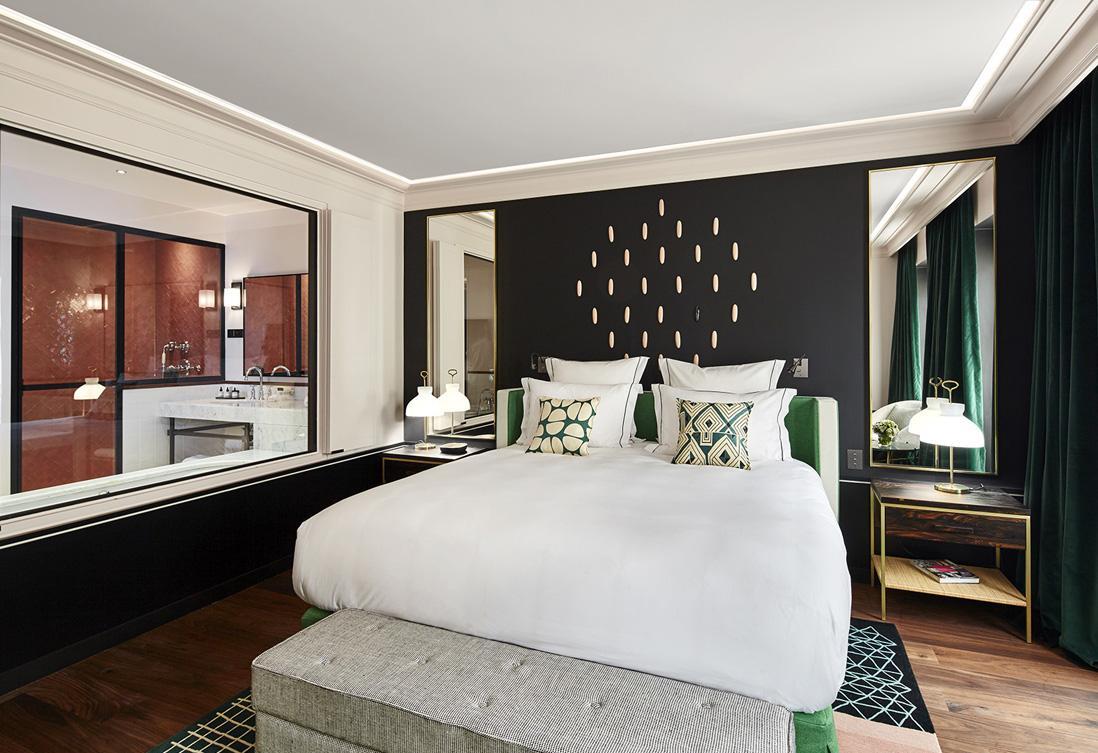 Дизайн спальни 18 кв м модерн